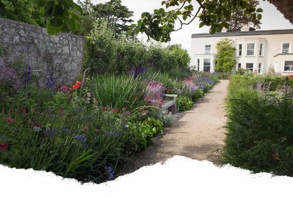 walled garden of airfield estate dundrum