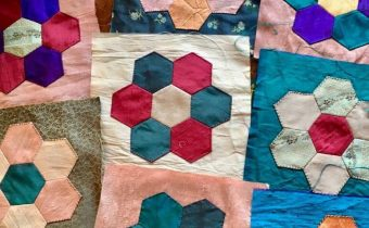Hexie Patchwork Flowers