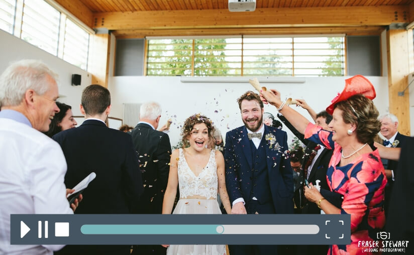 A Summer Wedding at Airfield Estate