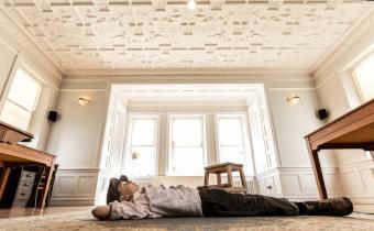 Papier Mache Ceiling